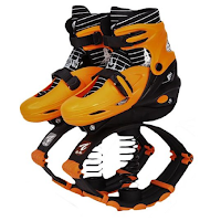 Des chaussures équipées de ressorts pour faire du sport