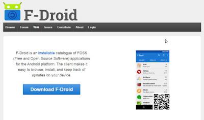 f-droid.org situs tempat aplikasi android terbaik