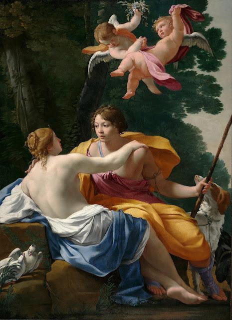 Simon Vouet - Venere e Adone
