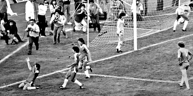 Chile y Brasil en partido amistoso, 21 de mayo de 1985