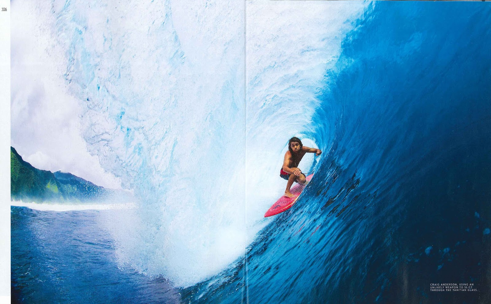 Quiksilver Pr Craig Anderson Featured On The Cover Of