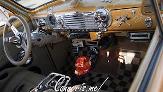 Gold Digger Hotrod Interior