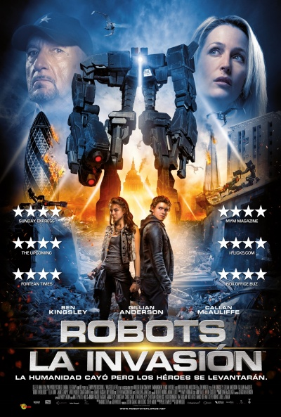 Ver Robot Overlords Robots La invasión online