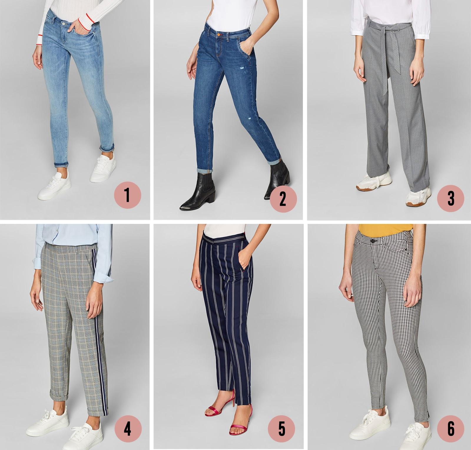 Nieuw 6 broeken die ik deze lente aan mijn garderobe toe wil voegen WT-16
