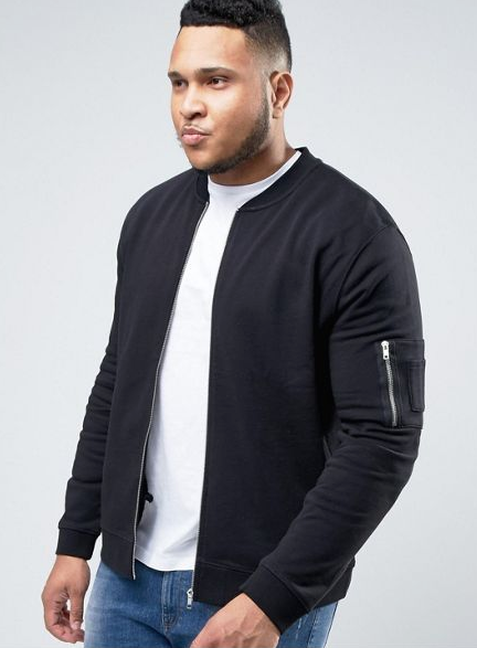 ASOS MEN plus, ASOS plus, ASOS debuts men's plus size line, men's plus size clothing, vanity sizing, natalie craig, plus size blogger, natalie in the city, chicago, men's style