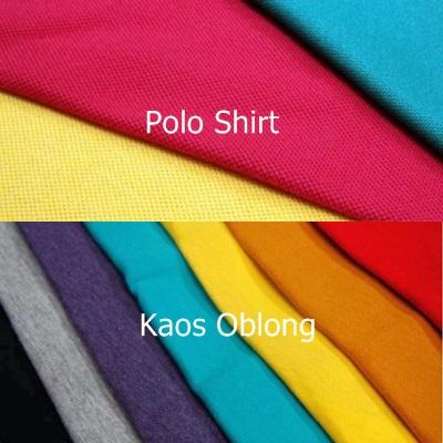 Sudah Tahu Perbedaan Bahan Kaos dan Polo? Cek Disini