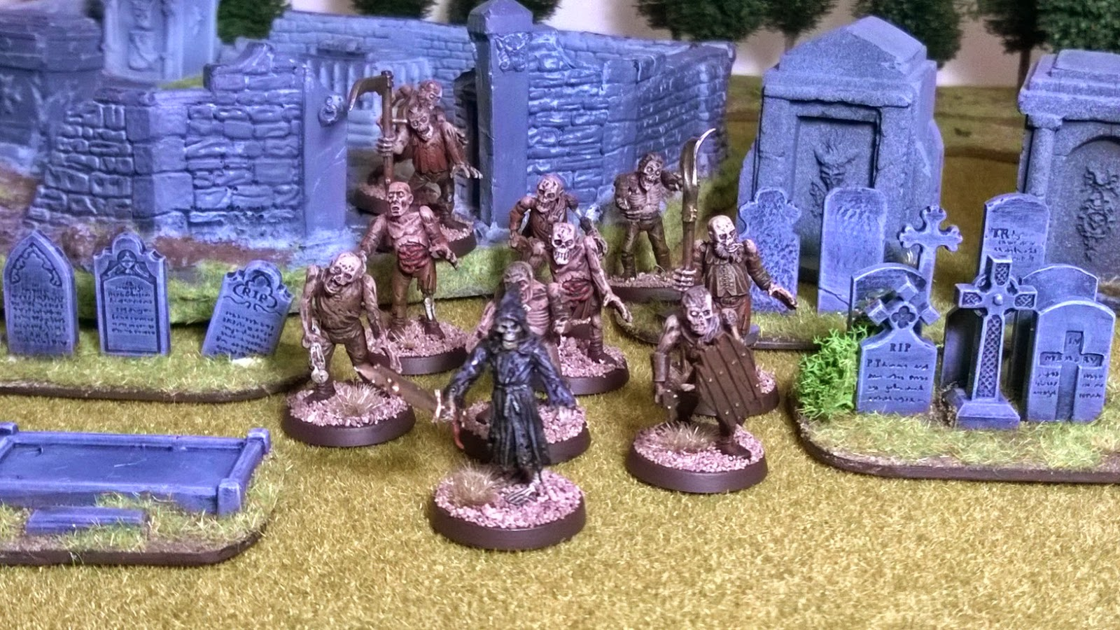 28mm undead otherworld miniatures gw games workshop zombie