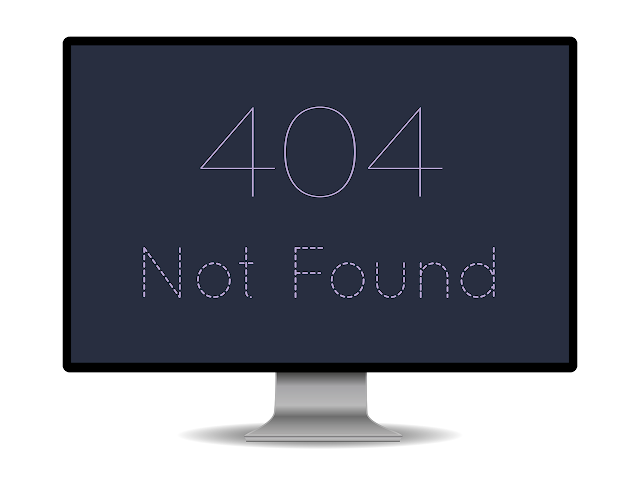 customize 404 error page in blogger