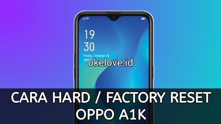 Factory Reset Oppo