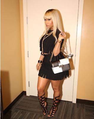 Photos: Nicki Minaj Shows Underboob At The Premiere Of Barber Shop Movie