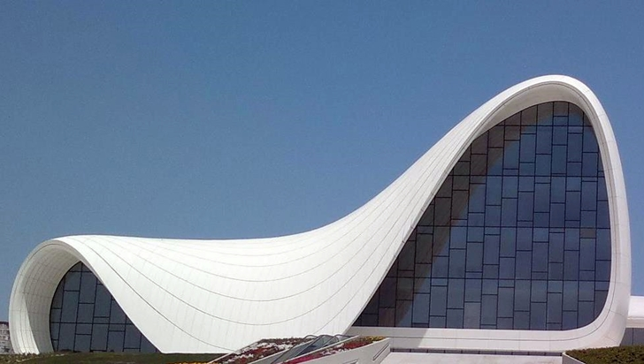 Heydar Aliyev Cultural Center by Zaha Hadid Architects