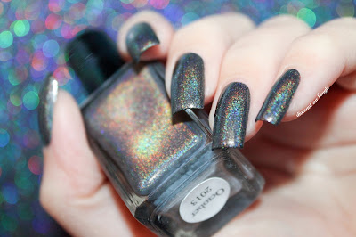 Swatch of October 2013 by Enchanted Polish