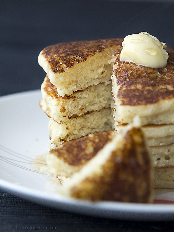 El gato goloso: la única receta de pancakes gluten free que necesitas en tu vida