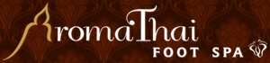 Aroma Thai foot spa franchise logo