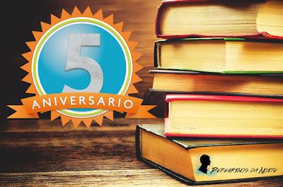 SORTEIO #34 - 5 ANOS DO BLOG PEREGRINO DA NOITE
