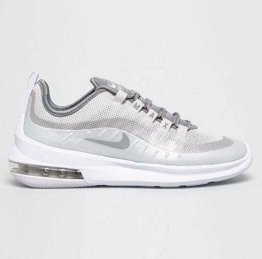 Adidasi dama argintii Nike Air Max Axis moderni cu talpa inalta