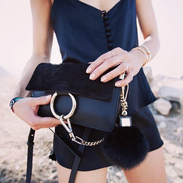Rumineely Fashion Toast - Black Chloe Faye Bag