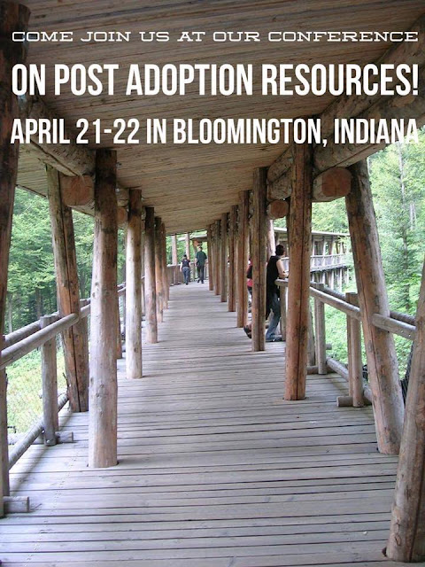Announcing Indiana Adoptee Network Spring Adoption Conference
