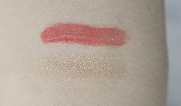 Korean Makeup Favorites Review - Aritaum Color Lasting Tint #2 Baby Wink Swatch & Mono Eyes Shadow