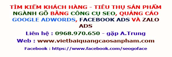 Seo, google adwords, facebook ads, zalo ads