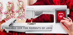 Husqvarna Viking Designer Diamond Sewing Machine with Embroidery Unit