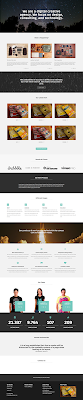 Marco One Page Bootstrap Free Template