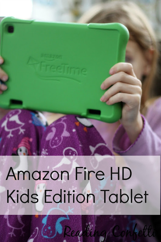 The Perfect Christmas Gift: Amazon Fire HD Kids Edition Tablet #FireHDKidsEdition #CG