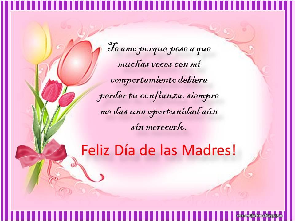 Imágenes Día De La Madre Para Whatsapp Y Facebook: Feliz Día De Las Madres, Imagenes Con Frases Bonitas