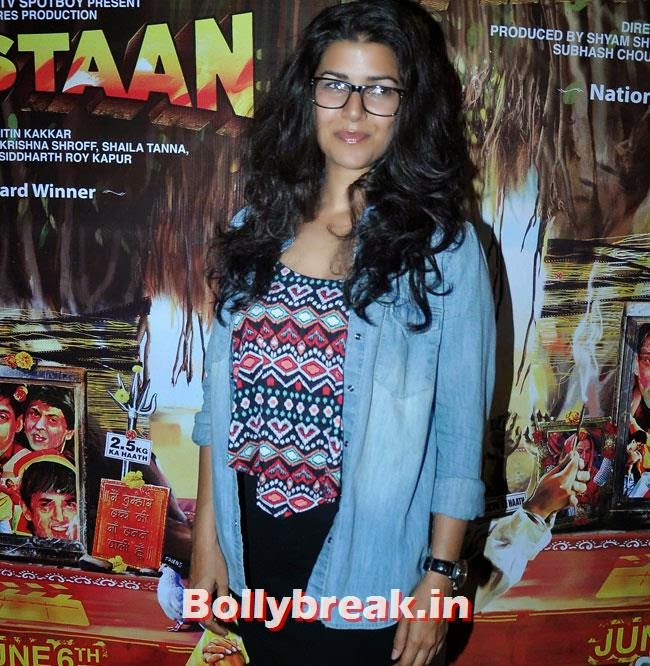 Nimrat Kaur, Vidya Balan, Tabu at Special Screening of movie 'Filmistaan'