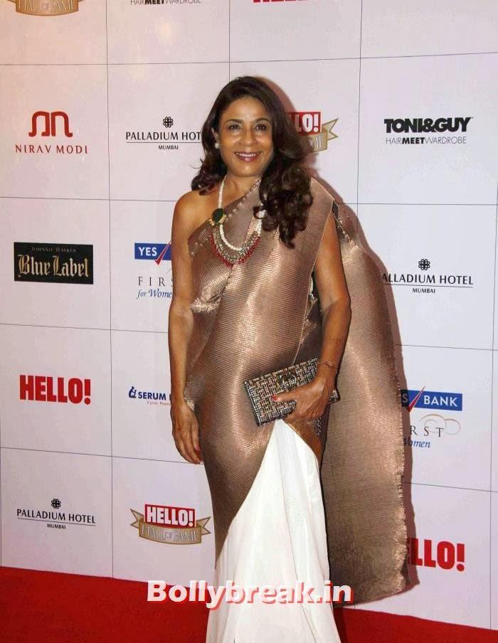 Rashmi Uday Singh, Hello Awards 2013 Pics