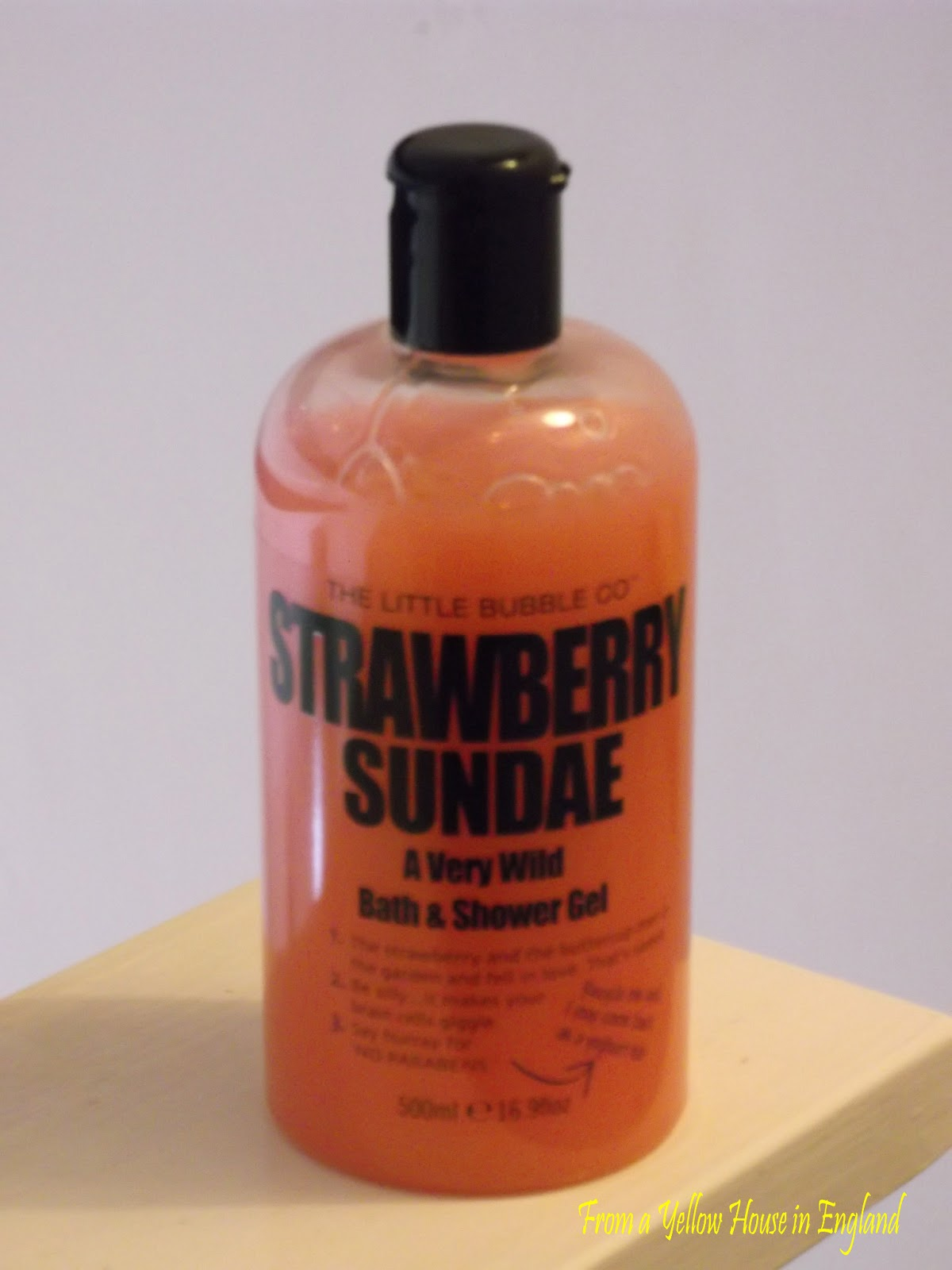 Can Shower Gel Be Used As Bubble Bath From A Yellow House The Little Bubble Co Review