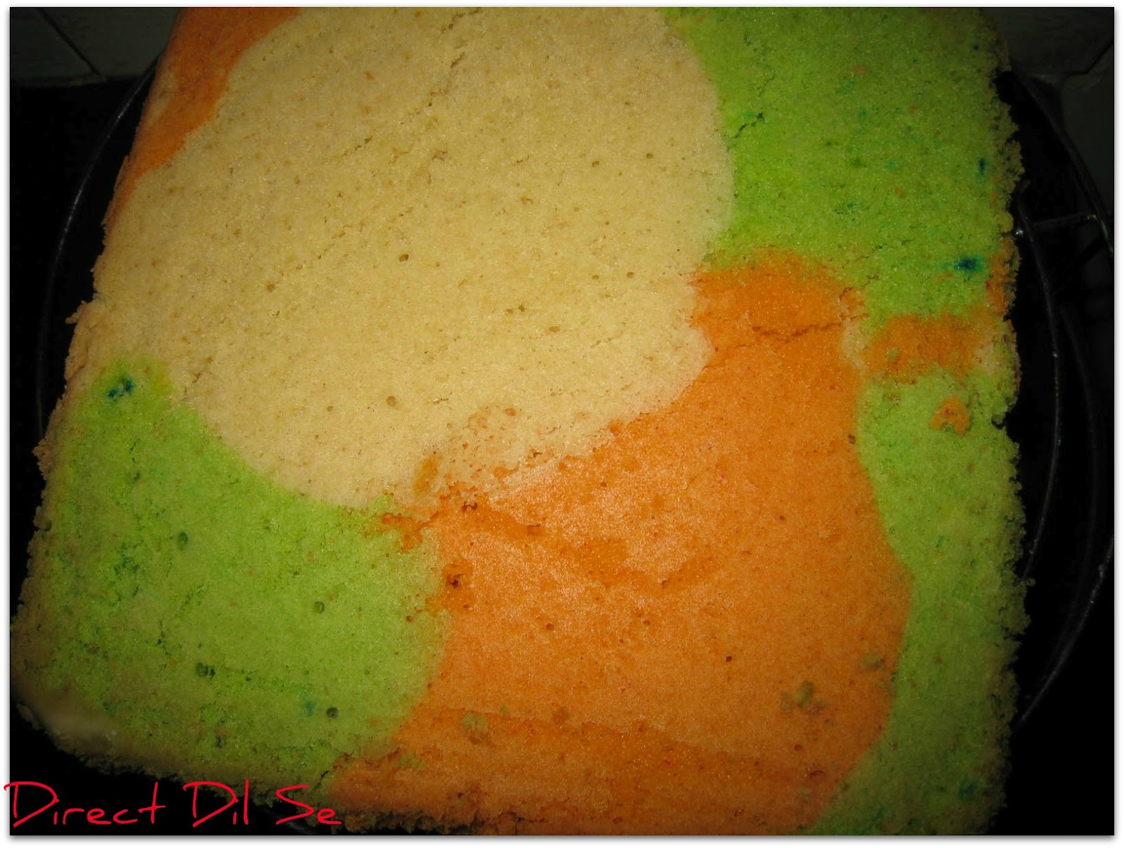 Direct Dil Se Rainbow Cake With Frosting