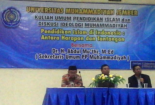 Dr. Abdul Mu'thi: Media merupakan keharusan dalam menyebarkan dakwah Islam