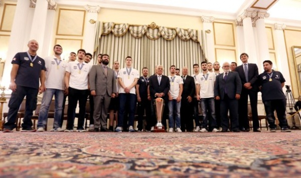 Εθνική Νέων Ανδρών : Επισκέφθηκε τον Πρόεδρο της Δημοκρατίας. Ένα γεμάτο πρωινό για τους διεθνείς.