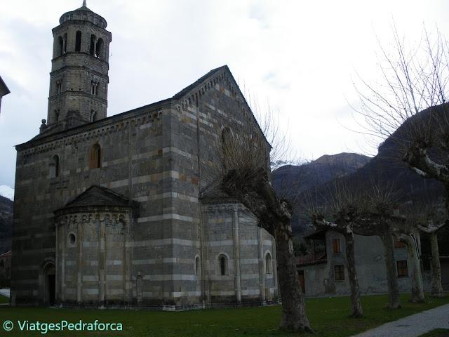 Llac de Como, art romànic, romànic llombard, Alps italians, Itàlia