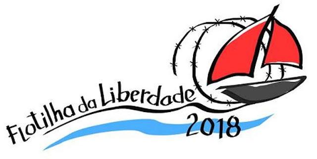 FLOTILHA DA LIBERDADE ESCALA PORTUGAL