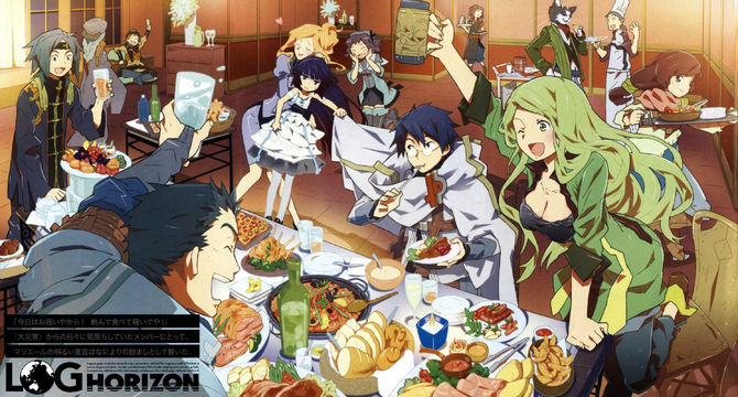 Log Horizon Sub Indo