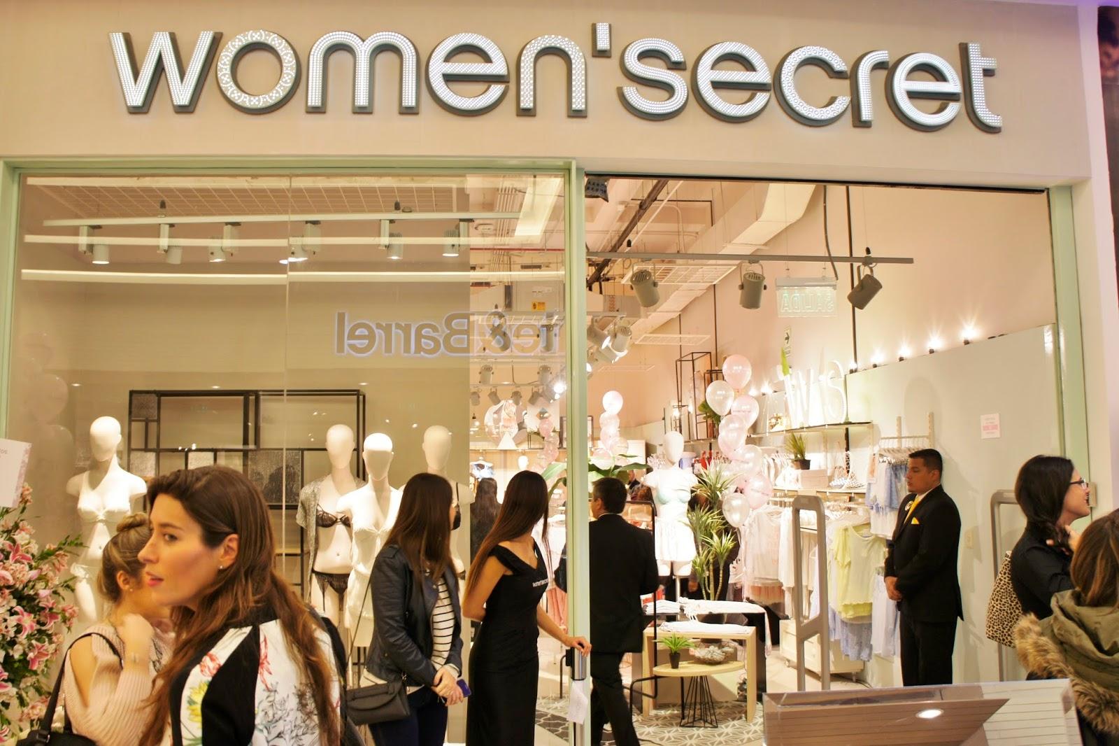 Women Secret tienda jockey plaza inauguración