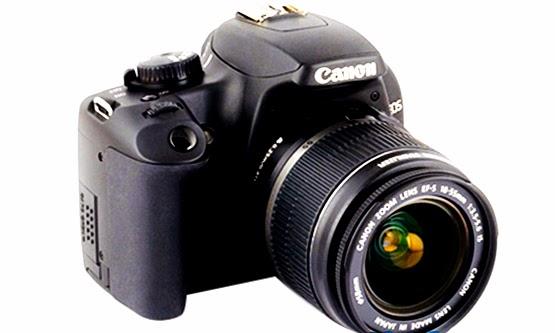 Harga Harga dan Spesifikasi Camera Digital SLR Canon EOS 1000D