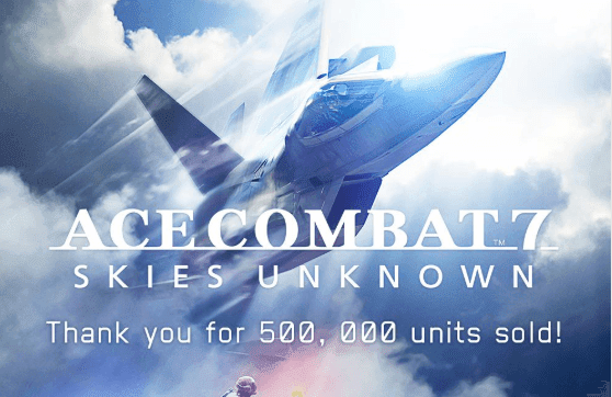 'Ace Combat 7' Skies Unknown Sold 500,000 Units In Asia