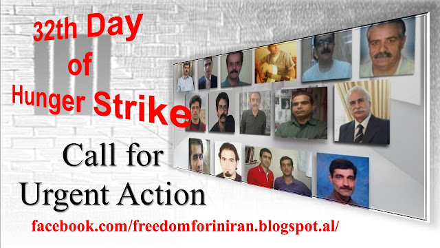 Eureporter: Call for Urgent Action about political Prisoners Hunger Strike