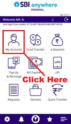 how to get e statement from sbi bank