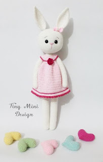 11 Crochet Bunny Patterns -Easter Fun - A More Crafty Life | 320x204