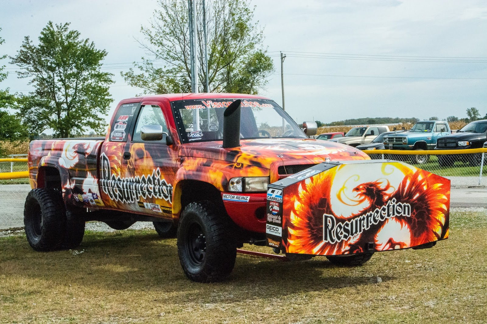 Diesel Motorsports Rollin Coal on the Streets  all the talk
