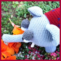 Elefante grande a crochet