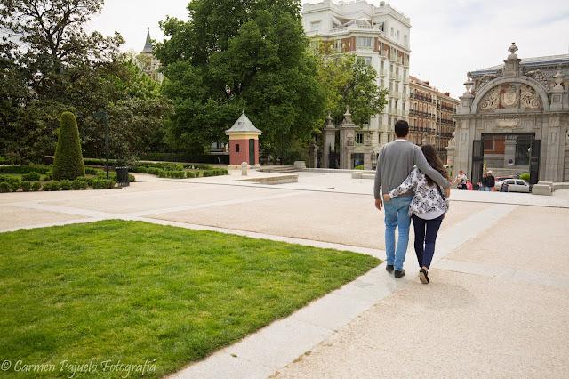reportaje fotográfico pareja madrid norte