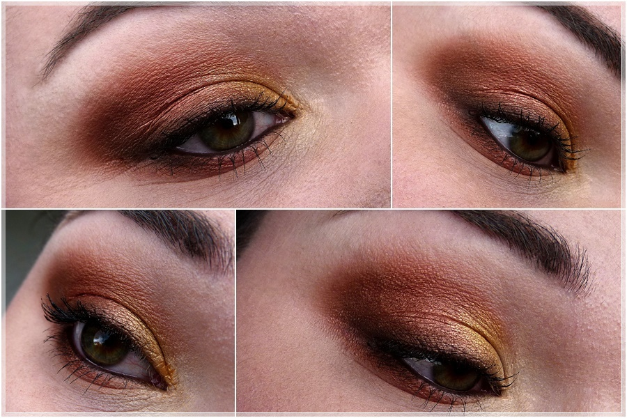 AMU Look mit Makeup Geek Vegas Lights