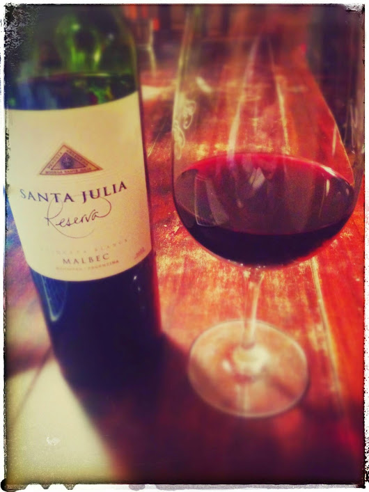 The Wine Cask Blog: Santa Julia Reserva Malbec 2012 Wine Review by Billy
