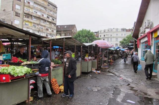 Belgrado markt