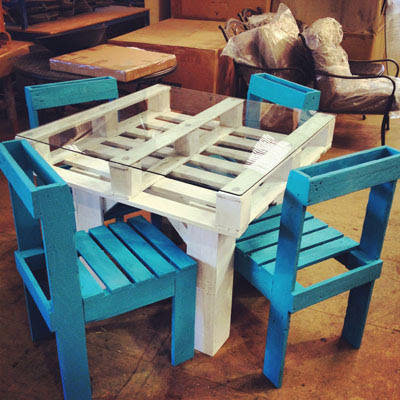 Ideas para reutilizar Palets de madera